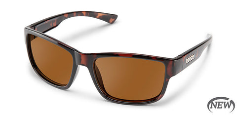 Suncloud - Suspect Havana Sunglasses / Polarized Brown Lenses