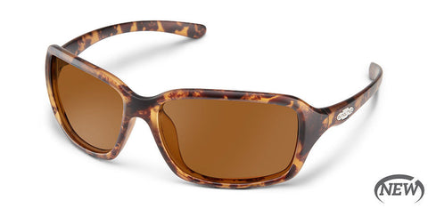 Suncloud - Fortune Matte Tortoise Sunglasses / Polarized Brown Lenses