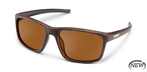 Suncloud - Respek Burnished Brown Sunglasses / Polarized Brown Lenses