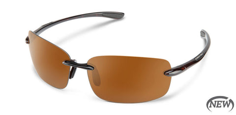 Suncloud - Topline Havana Sunglasses / Polarized Brown Lenses