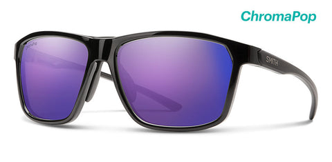 Smith - Pinpoint 59mm Black Sunglasses / Chromapop Violet Mirror Lenses