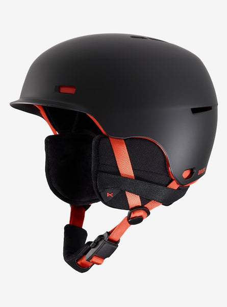 Anon - Men's Highwire Medium Black Pop Snow Helmet