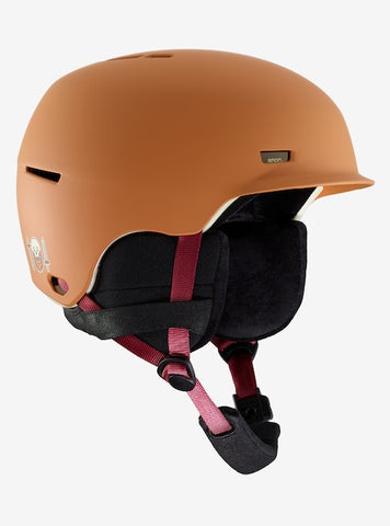 Anon - Men's Highwire Small Doa Orange Snow Helmet