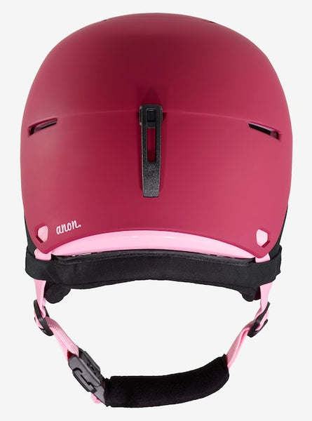 Anon - Kids' Flash L-XL Berry Snow Helmet