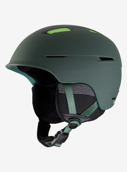 Anon - Men's Invert XL Deer Mountain Green Snow Helmet