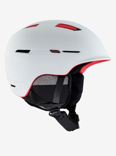 Anon - Women's Auburn Large White Rose Snow Helmet