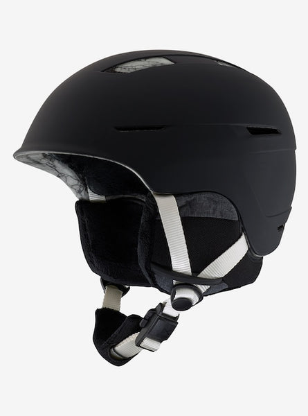 Anon - Women's Auburn MIPS Large Marble Black Snow Helmet