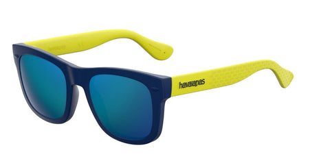 Havaianas - Paraty S Blue Yellow Sunglasses / Blue Lenses