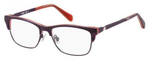 Fossil - Fos 7026 Purple Violet Red Eyeglasses / Demo Lenses