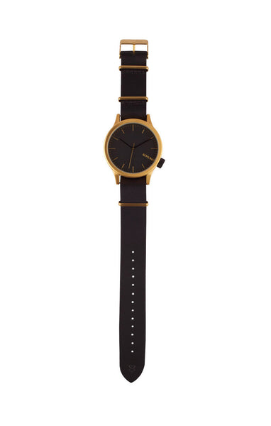 Komono - Magnus Gold Black Watch