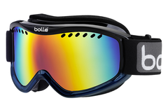Bolle - Carve Black Blue Fade Goggles, Sunrise Lenses