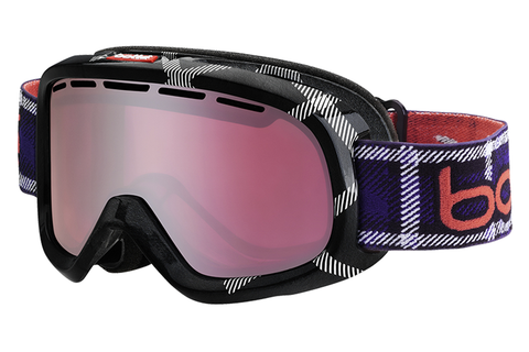 Bolle - Bumpy Black & Red Goggles, Vermillon Gun Lenses