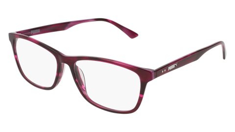 Puma - PJ0031O Black Pink Eyeglasses / Demo Lenses