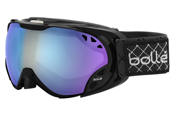 Bolle - Duchess Shiny Black Goggles, Modulator Light Control Lenses