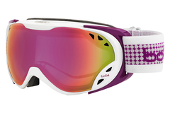 Bolle - Duchess White & Plum Goggles, Rose Gold Lenses