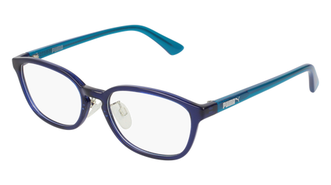 Puma - PJ0017OJ Blue Light Blue Eyeglasses / Demo Lenses