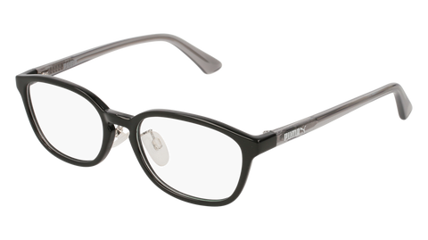 Puma - PJ0017OJ Black Grey Eyeglasses / Demo Lenses