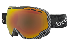 Bolle - Emperor Black & Grey Plaid Goggles, Sunrise Lenses
