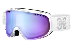 Bolle - Scarlett Shiny White Night Goggles, Aurora Lenses