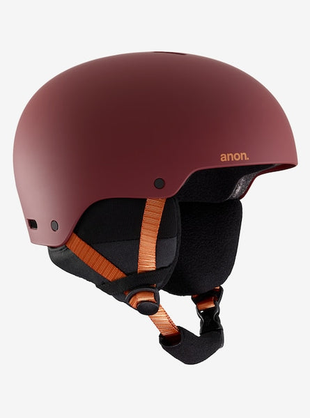 Anon - Men's Raider 3 Large Doa Red Snow Helmet