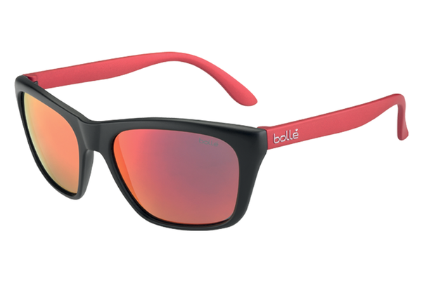 Bolle - Jordan Black/Red Sunglasses, TNS Fire Lenses