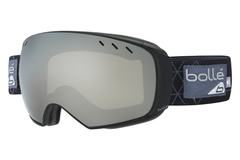 Bolle - Virtouse Black & Grey Iceberg Goggles, Black Chrome + Aurora Lenses