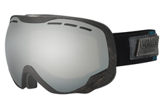 Bolle - Emperor Black & Green Heritage Goggles, Black Chrome Lenses