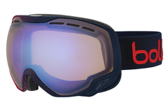 Bolle - Emperor Blue & Red Dots Goggles, Aurora Lenses
