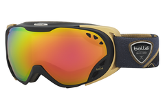 Bolle - Duchess Black & Gold Goggles, Rose Gold Lenses