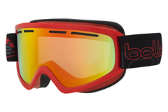 Bolle - Schuss Shiny Red Goggles, Sunrise Lenses