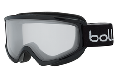 Bolle - Freeze Shiny Black Goggles, Clear Lenses