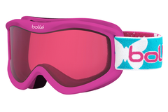 Bolle - Volt Pink Butterfly Goggles, Vermillon Lenses