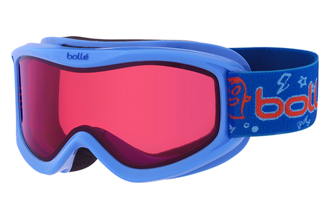 Bolle - AMP Blue Monster Goggles, Vermillon Lenses