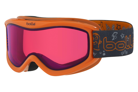 Bolle - AMP Orange Monster Goggles, Vermillon Lenses