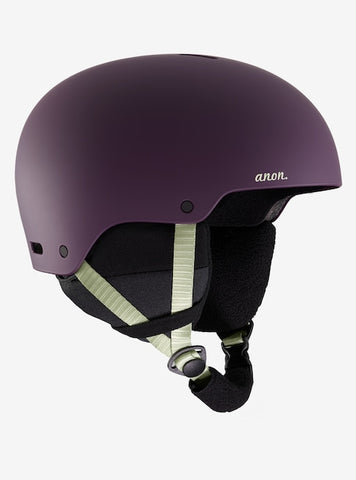 Anon - Women's Greta Medium Purple Snow Helmet