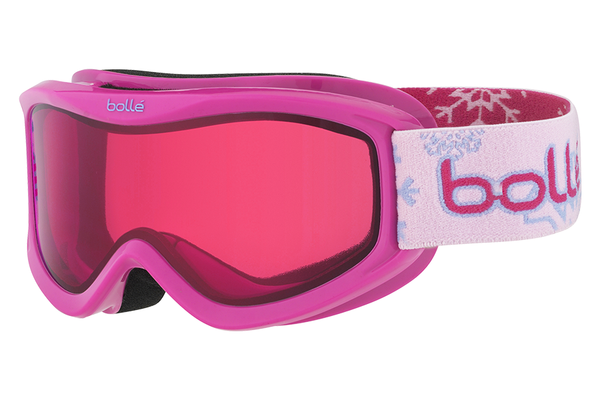 Bolle - AMP Pink Snow Goggles, Vermillon Lenses