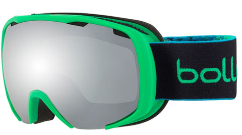 Bolle - Royal Matte Green Spray Snow Goggles / Black Chrome Lenses