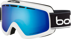 Bolle - Nova II Matte White Black Snow Goggles / NXT Modulator Light Control Lenses