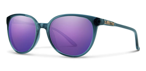Smith - Cheetah Crystal Mediterranean Sunglasses / Violet Mirror Lenses