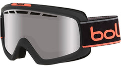 Bolle - Nova II Matte Grey Neon Orange Neon Snow Goggles / Black Chrome Lenses