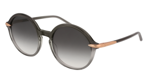 Pomellato - PM0036S 54mm Grey Sunglasses / Shiny Grey Lenses