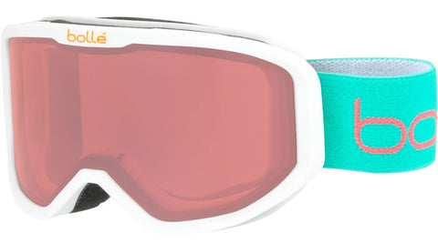 Bolle - Inuk Matte White Animals Snow Goggles / Vermillon Lenses