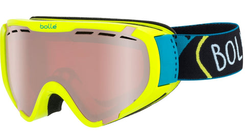Bolle - Explorer Shiny Lime Shout Snow Goggles / Vermillon Gun Lenses