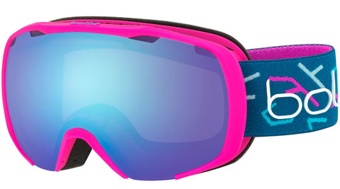 Bolle - Royal Matte Pink Blue Snow Goggles / Aurora Lenses