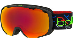 Bolle - Royal Matte Black Green Snow Goggles / Sunrise Lenses