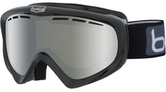 Bolle - Y6 OTG Shiny Black Snow Goggles / Black Chrome Lenses