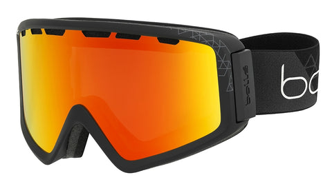 Bolle - Z5 OTG Matte Black Snow Goggles / Photochromic Fire Red Lenses