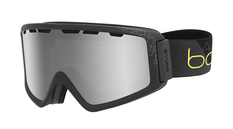 Bolle - Z5 OTG Matte Black Grey Snow Goggles / Black Chrome Lenses