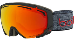 Bolle - Supreme OTG Matte Dark Grey + Red Snow Goggles / Phantom Fire Red Lenses