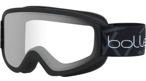 Bolle - Freeze Matte Black Snow Goggles / Clear Lenses